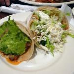 Taco al Pastor and Vegetarian Taco