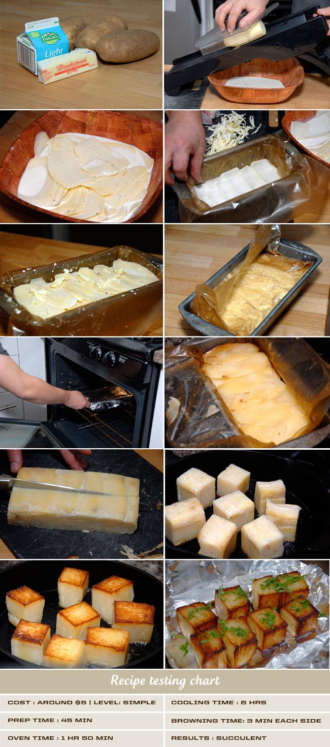 Potato Pave A Recipe By Thomas Keller Mondo Dinner
