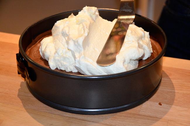 Triple Chocolate Mousse Cake Joy Of Baking