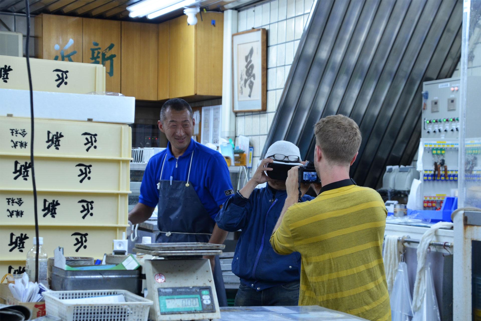 Nishiki Market in Kyoto