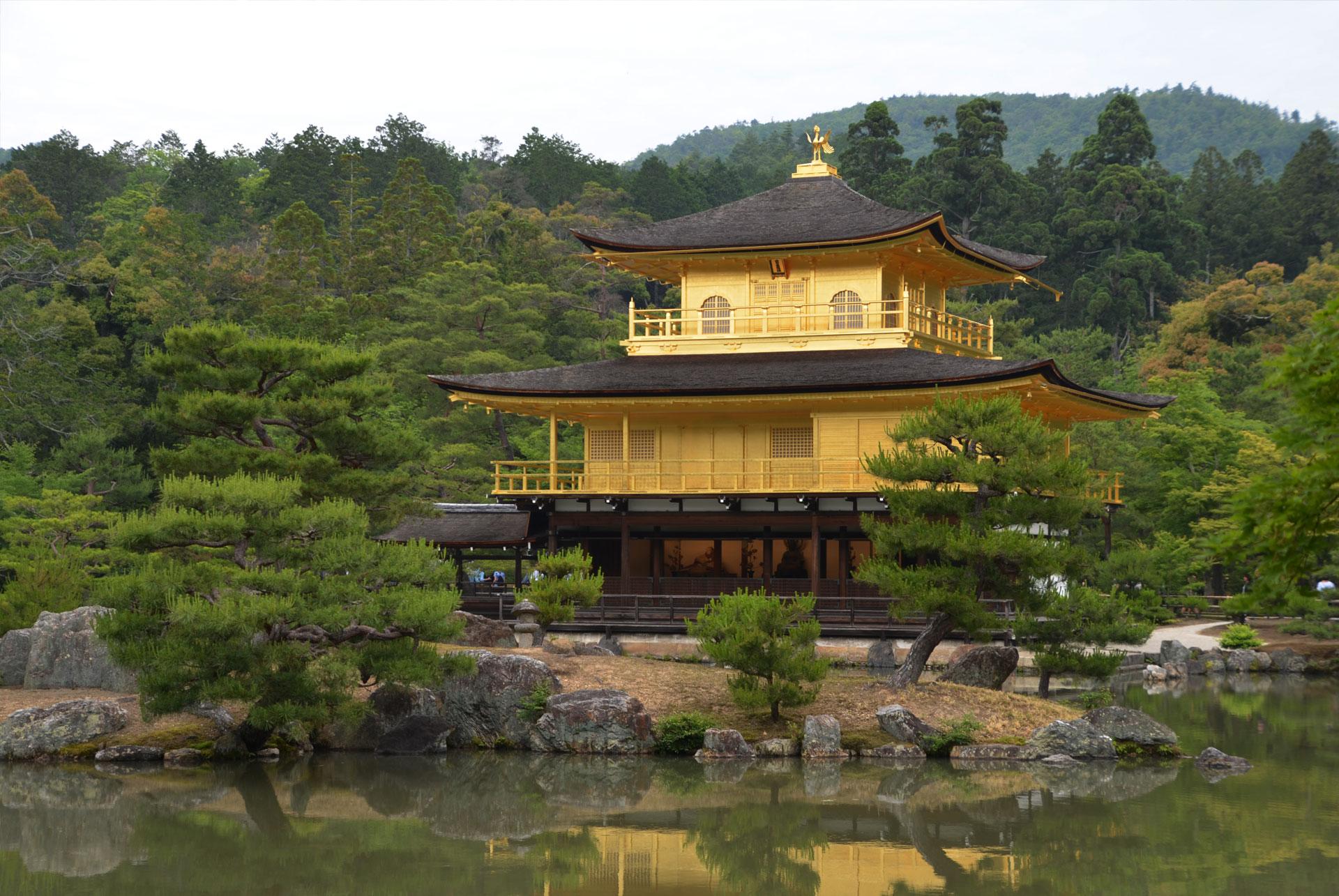 Kinkakuji, Golden Pavilion in Kyoto