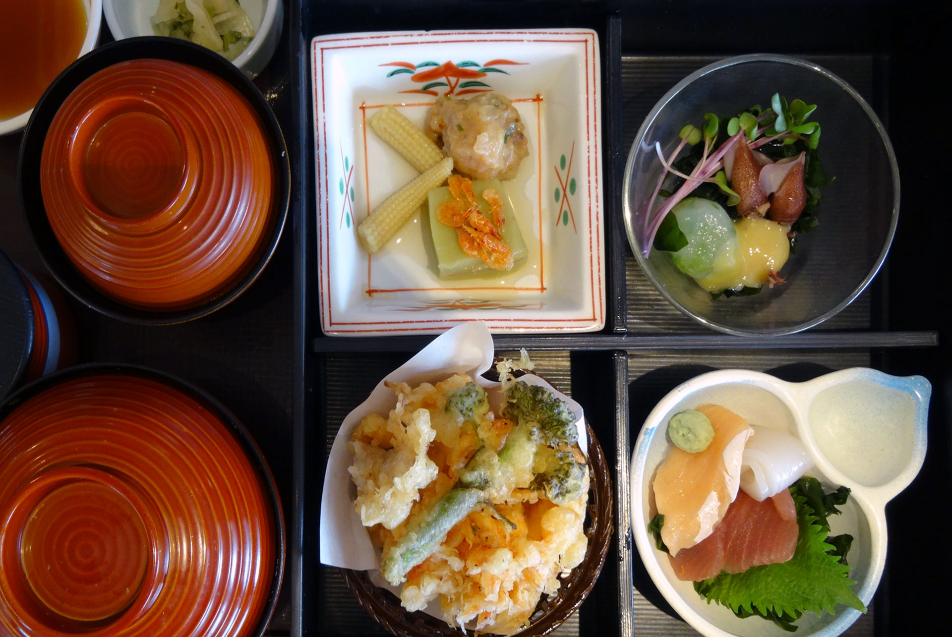 Kyoto lunch set