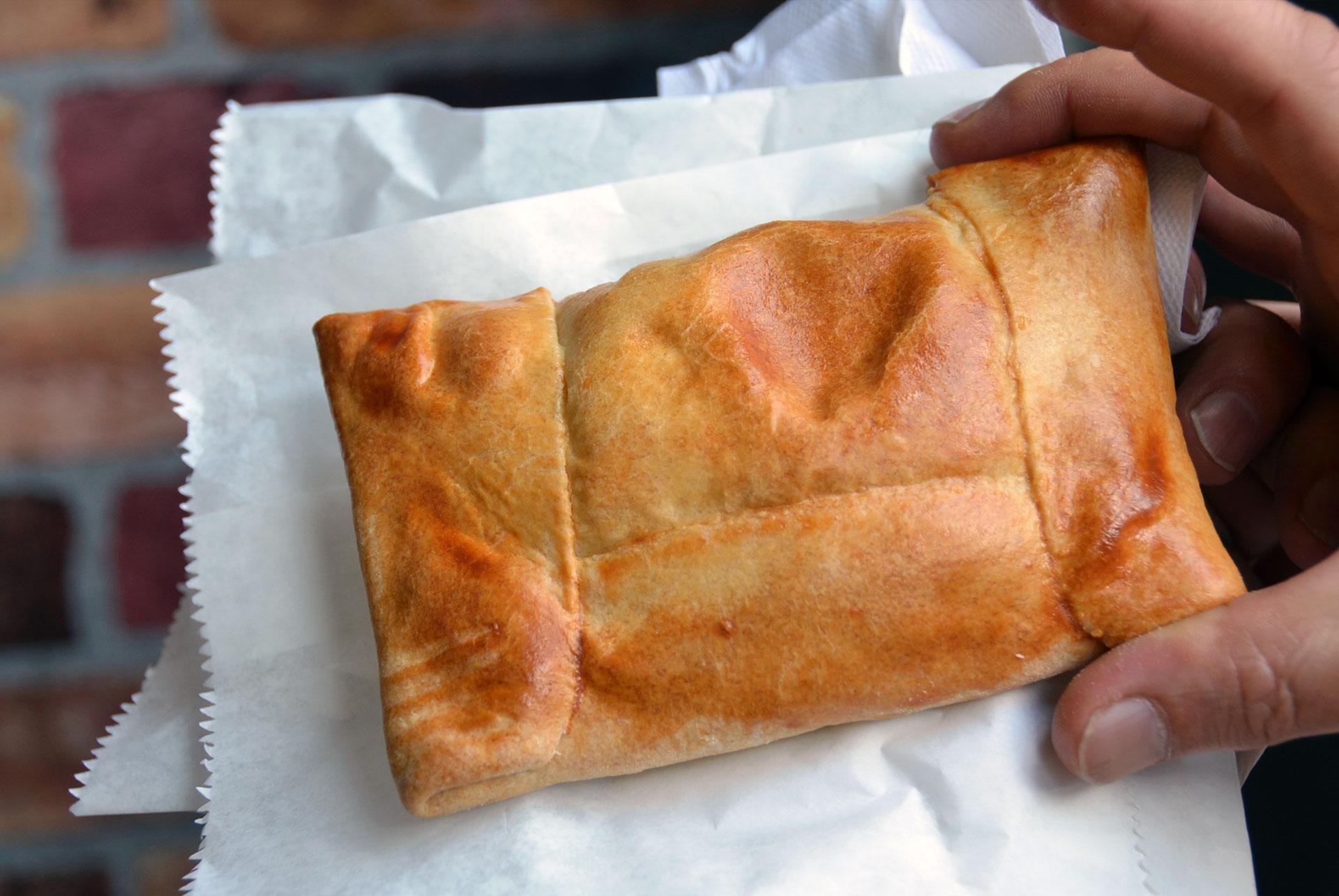 Chilenean empanada in Kensignton